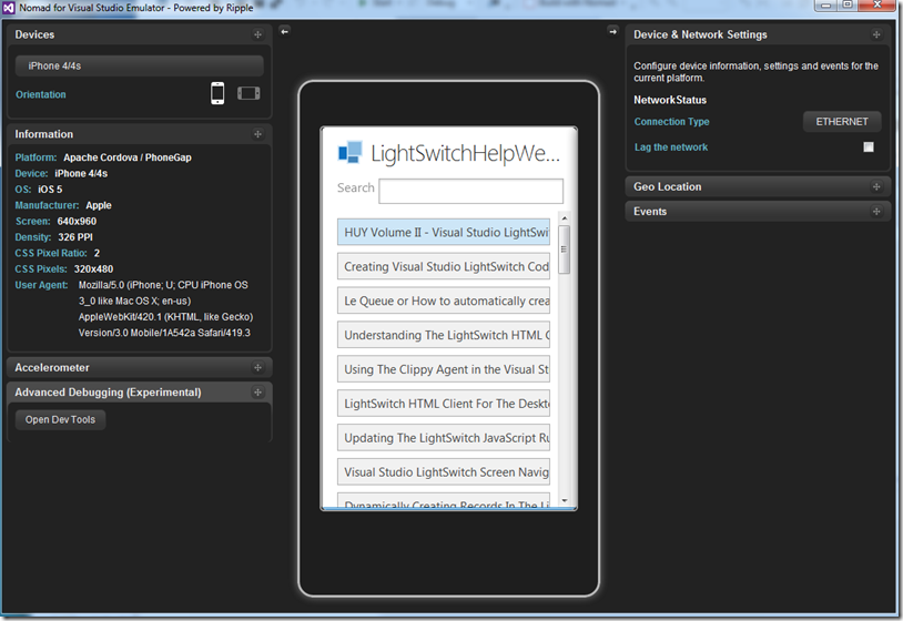 create PhoneGap Android and IOS applications from your Visual Studio ...