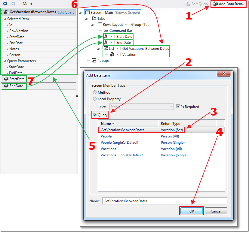 LightSwitch Employee Vacation Tracker Using The ComponentOne HTML Scheduler Control