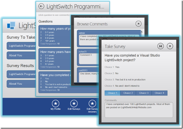 Light Switch Application: You can embed reports into the pages of your Visual Studio LightSwitch HTML  Client applications and allow your end users to print them and export them  to ...,Lighting