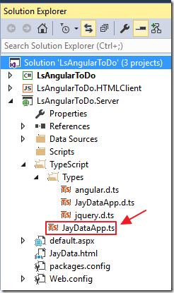 LightSwitch Help Website > Blog - TypeScript AngularJs and JayData