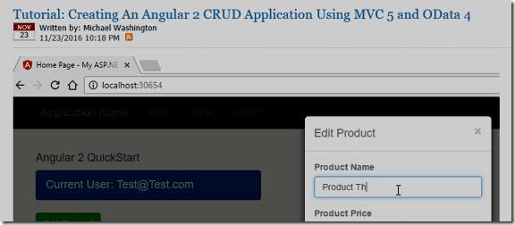LightSwitch Help Website > Blog - A Simple CRUD Application