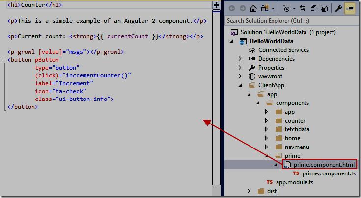 LightSwitch Help Website > Blog - Hello World Angular 2+