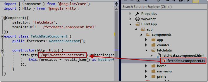 LightSwitch Help Website > Blog - Hello World Angular 2+ Data Sample