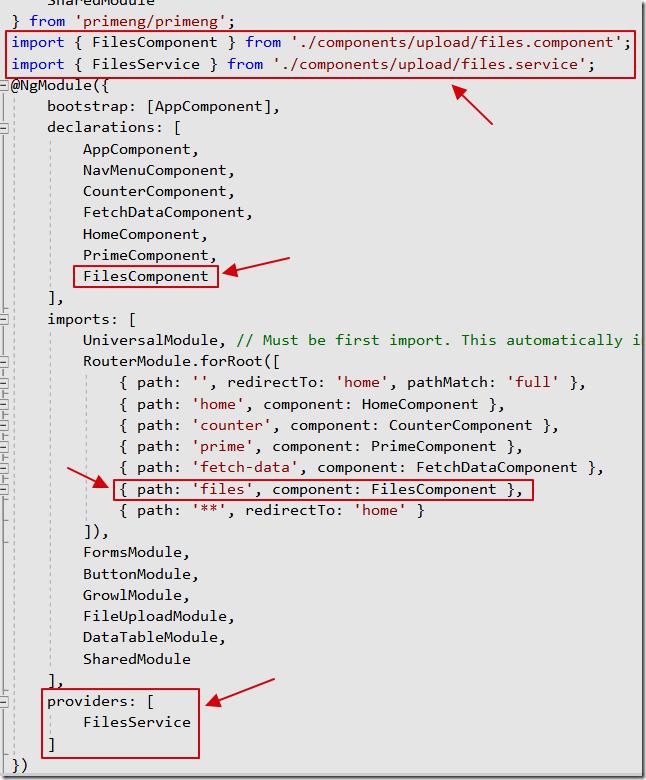 LightSwitch Help Website > Blog - Implementing PrimeNG FileUpload in