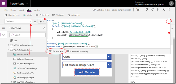 Capps_PowerApps03_18PatchRefreshUpdateContext