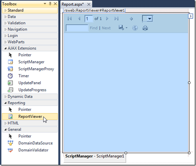 LightSwitch Help Website > Blog - Printing Sql Server